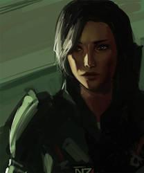 Shepard by k-atrina