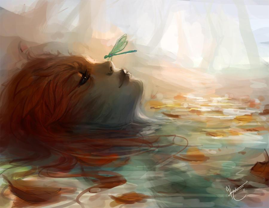 Fall Sylvari by k-atrina