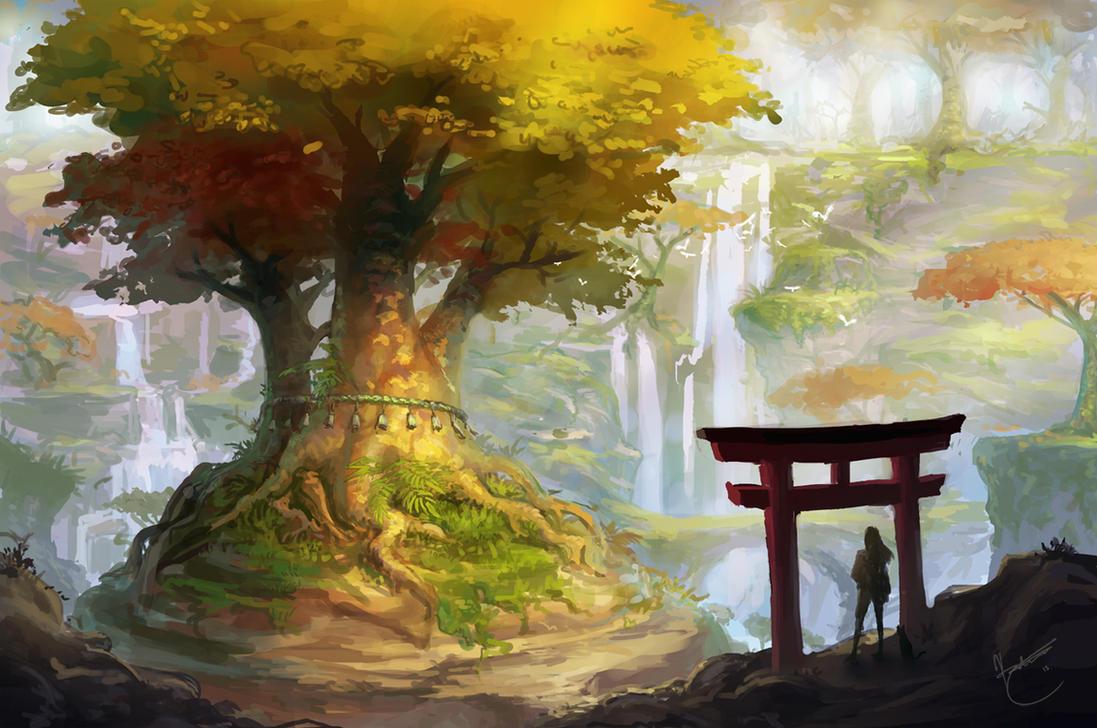 Forest walk by k-atrina