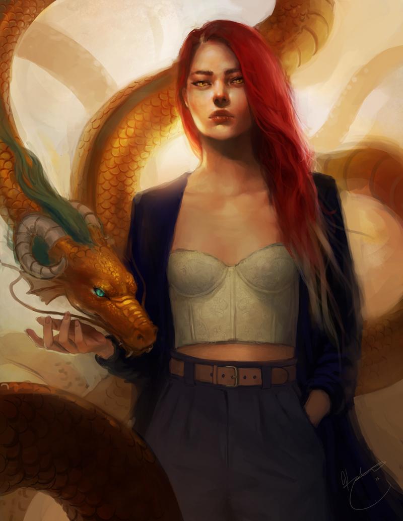 Gold by k-atrina