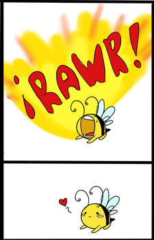 im a bee heir me ....buzz?