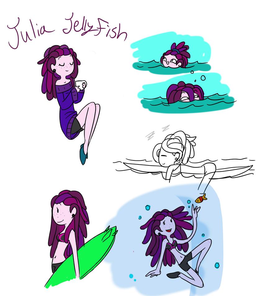Julia Jellyfish by TheLittlehoneybee
