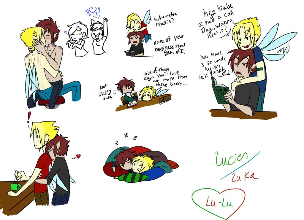 Lu-Lu Doodles by TheLittlehoneybee