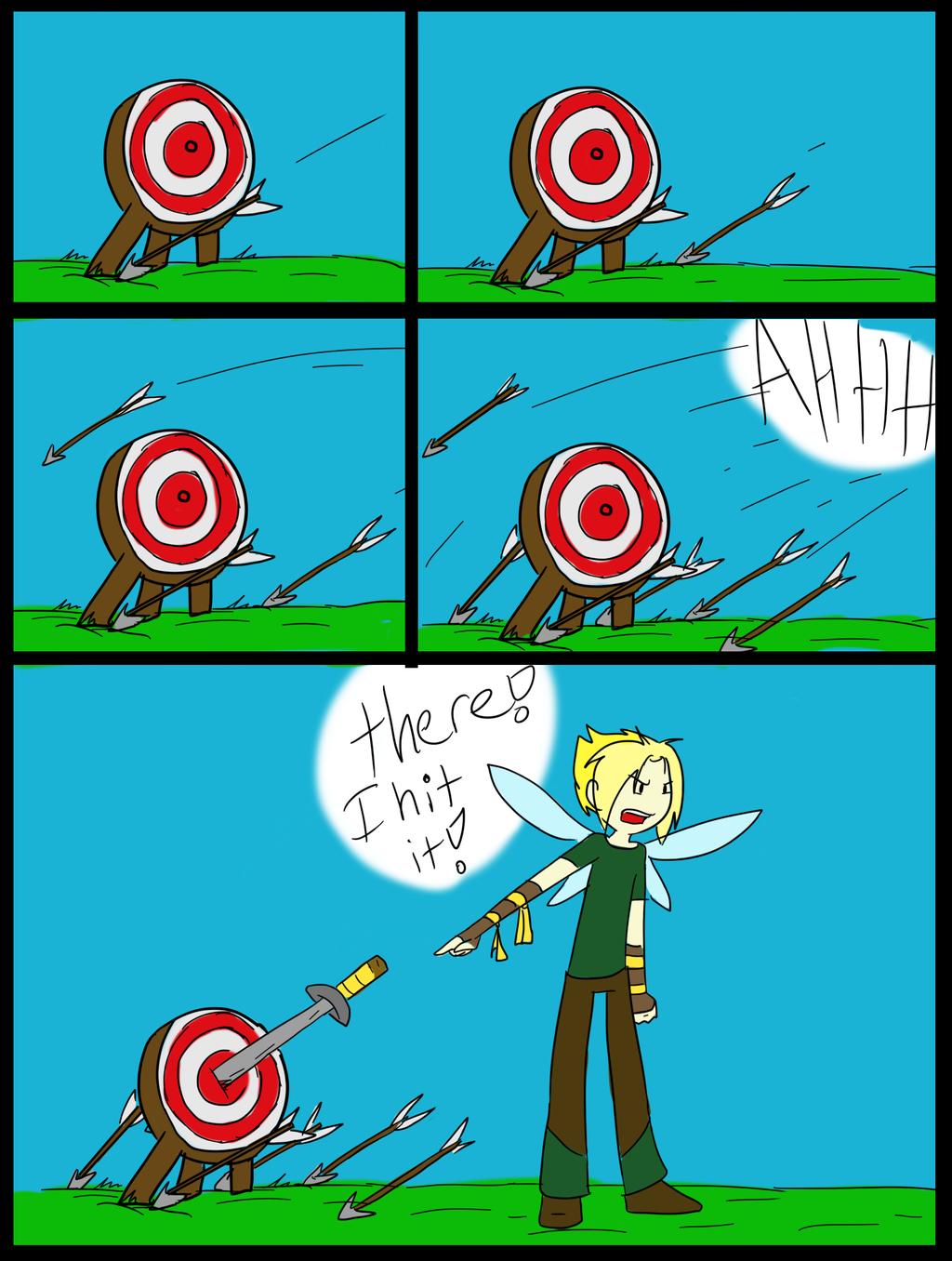 target practice by TheLittlehoneybee