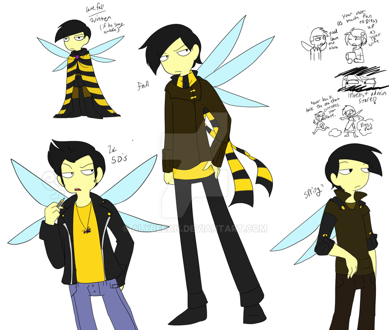 Hornet dress up tiem by TheLittlehoneybee