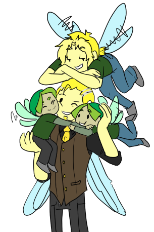 Nic and his Boys by TheLittlehoneybee