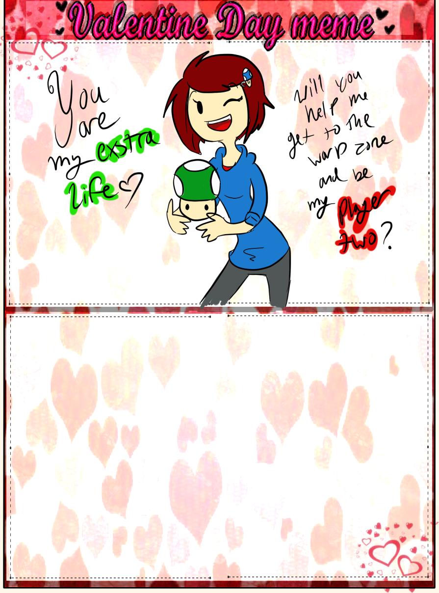 Valentine Meme Admin  by TheLittlehoneybee