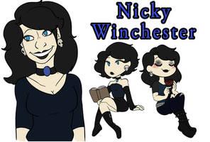 Nicky winchester ref/info by AlyBeean