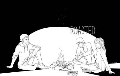 ROASTED (Inktober 2018: Day 3) by bossboi