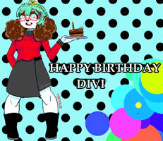Happy Birthday divi