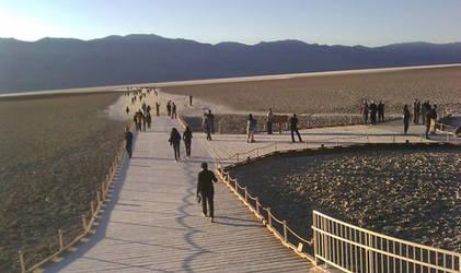 Death Valley: Badwater by cassannder