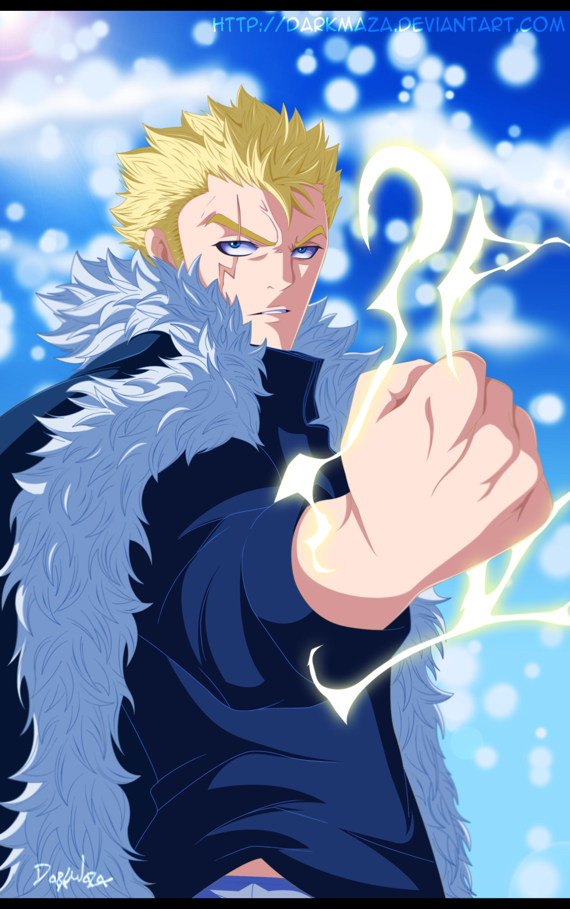 Fairy Tail 357~ Laxus Dreyar by DarkMaza