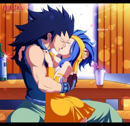 Gajeel x Levy ~ Kiss