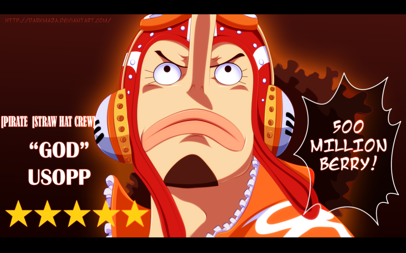 One Piece 746 ~ The God Usopp by DarkMaza