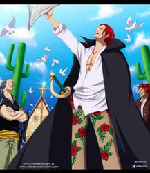 One Piece 838 ~ Shanks by DarkMaza