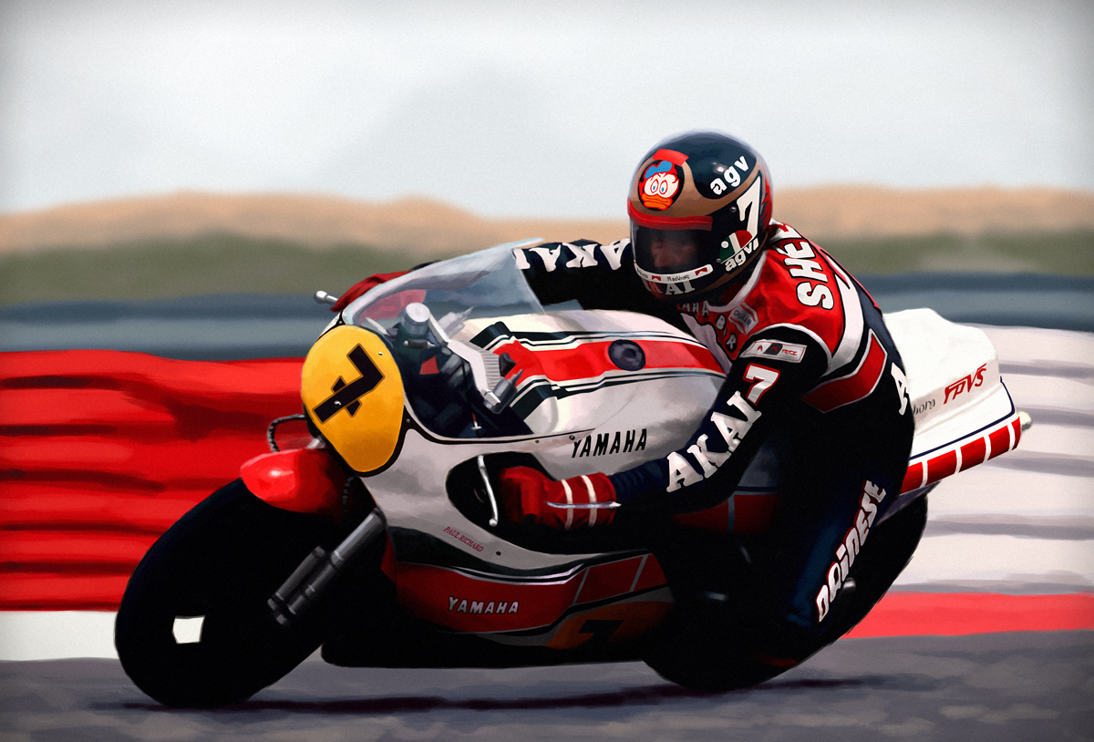 Barry Sheene By ChestyMcGee On DeviantArt