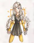 Haven't drawn Akari before