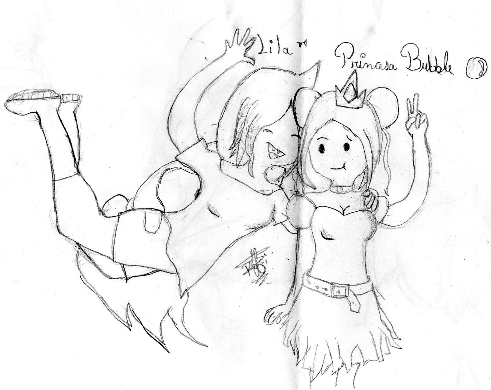 ~.::Lila y la Princesa Bubble::.~ by Rosii16