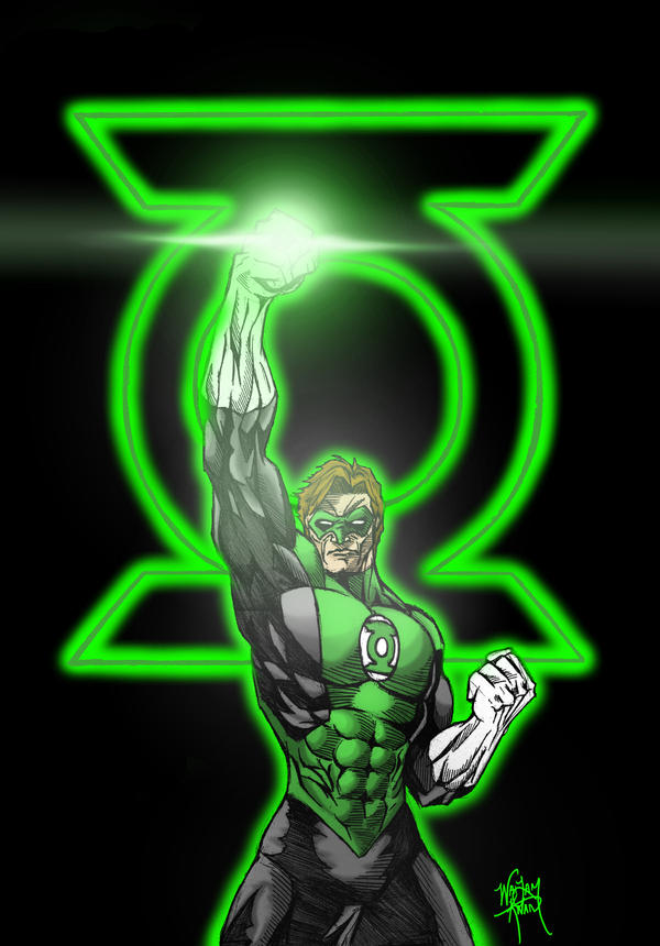Hal Jordan Green Lantern Light By One Beyond