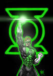 Hal Jordan Green Lantern light