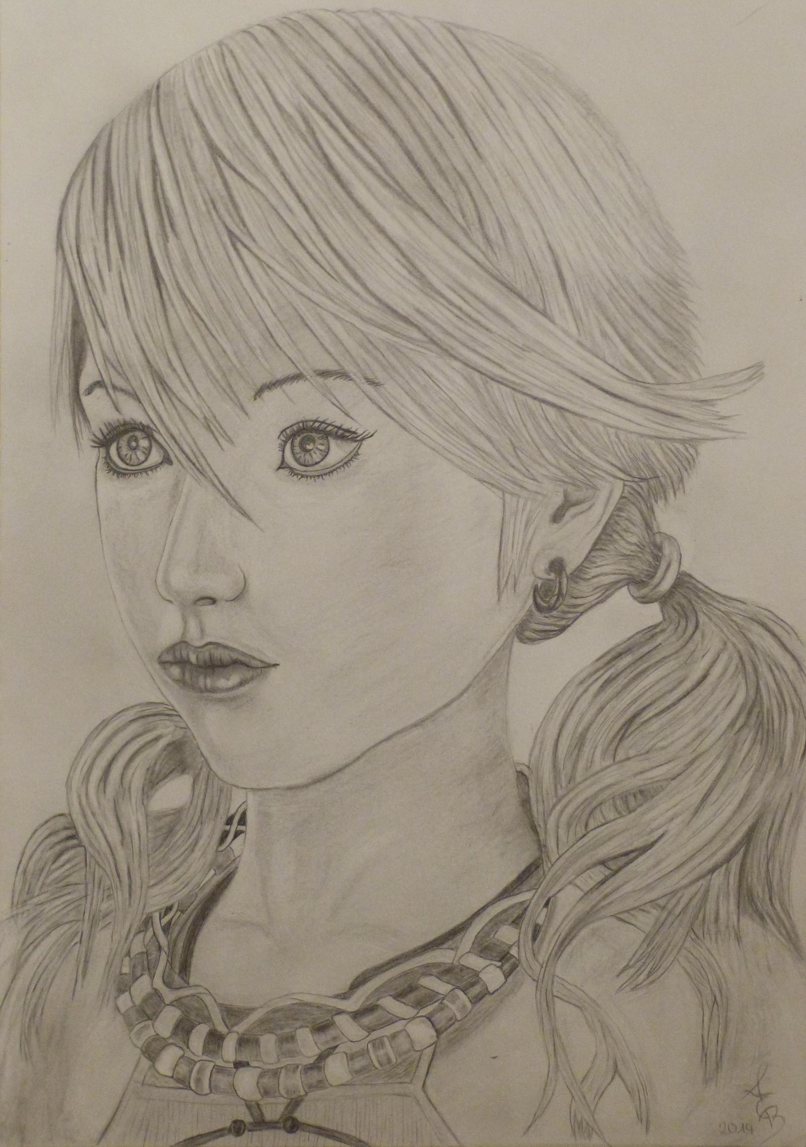 Vanille Final Fantasy 1 by Fivelinger