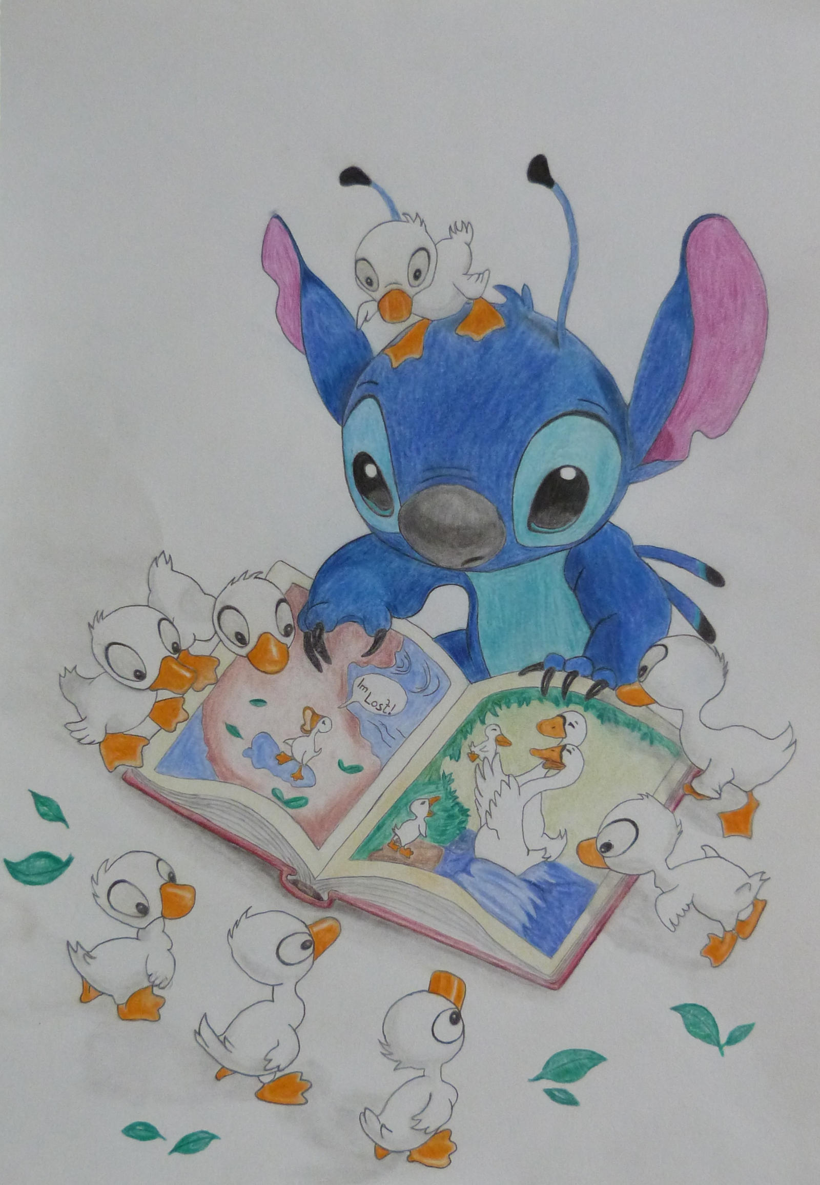 Stitch with Ducks  :-) by Fivelinger
