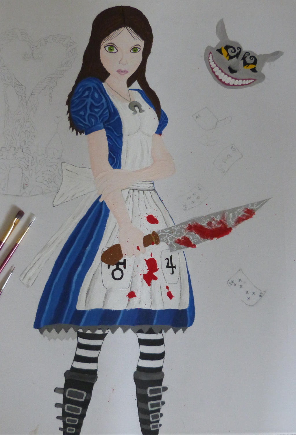 Alice Mc Gee WIP by Fivelinger