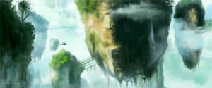 Speed Painting - Hallelujah Mountains