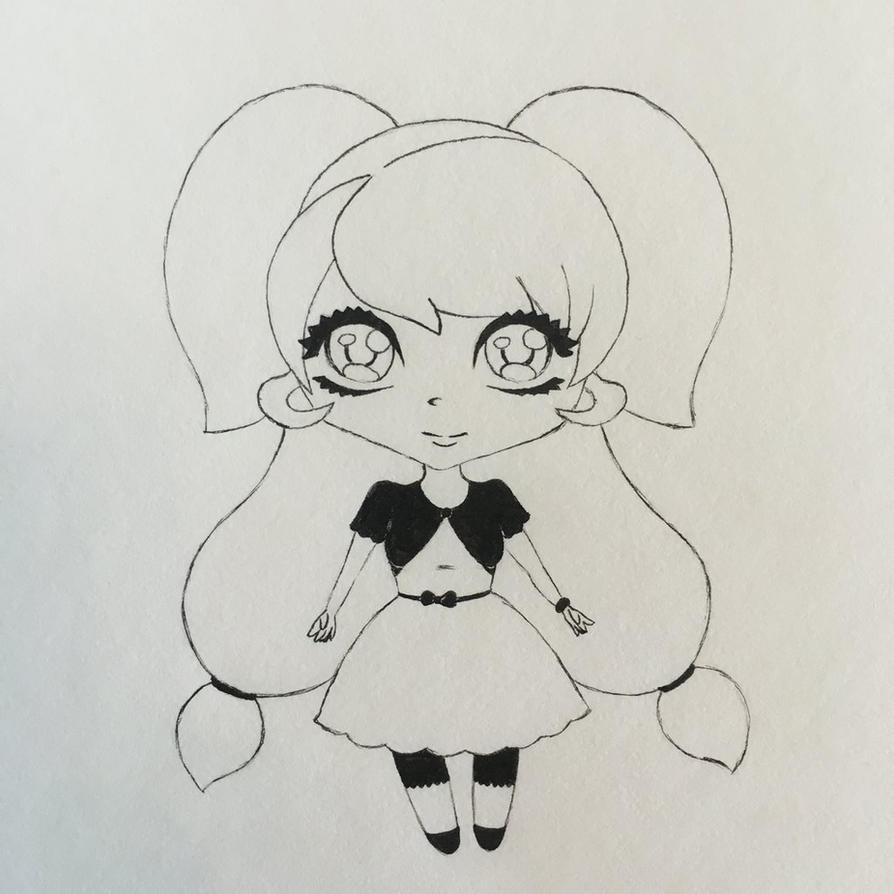 Chibi Aurora by SapGreen