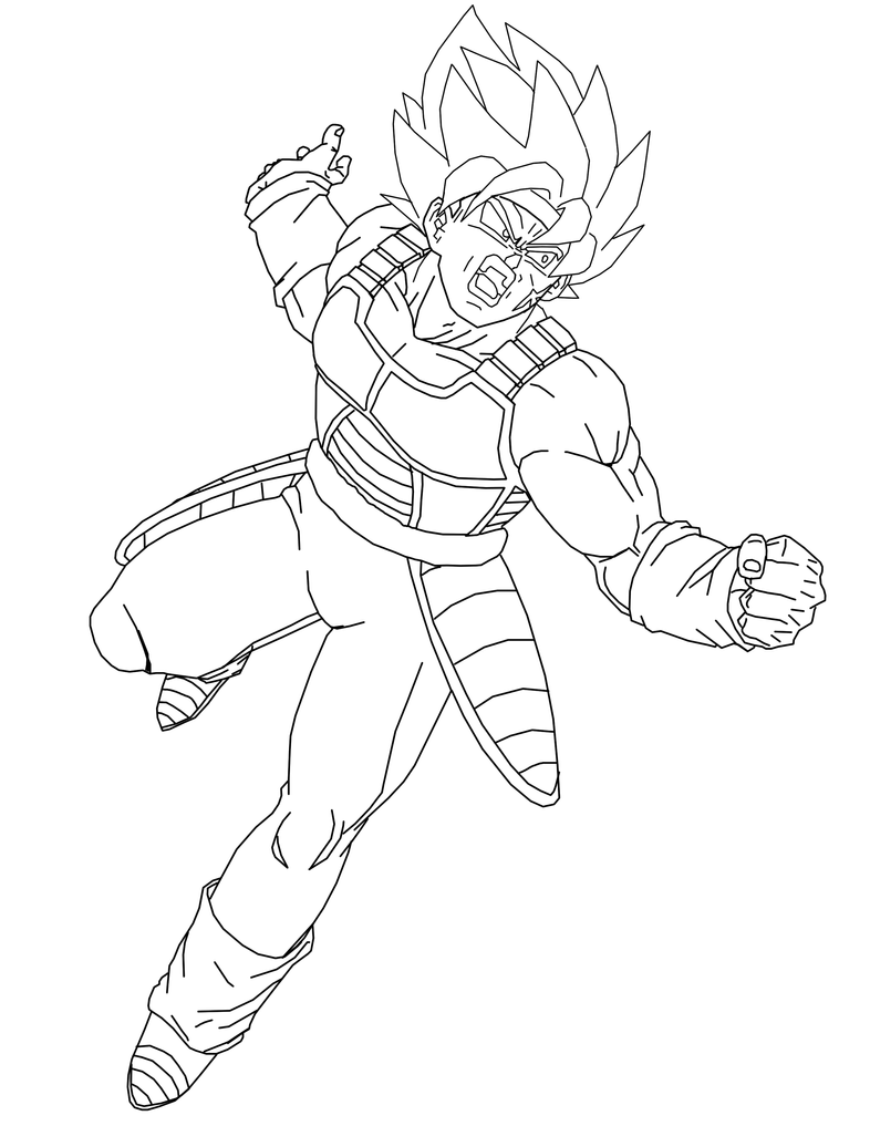 Bardock Super Saiyan By BrusselTheSaiyan On DeviantArt