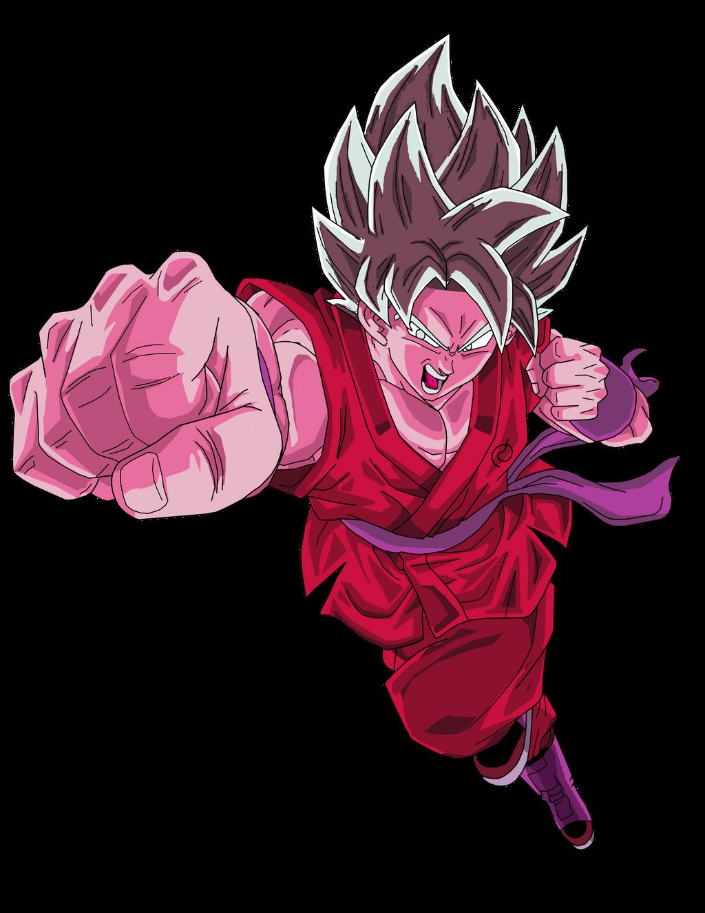 Goku Super Saiyan Blue Kaioken by rmehedi on DeviantArt