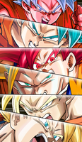 Goku Super Saiyan Wallpaper by BrusselTheSaiyan