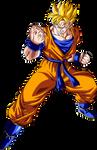 Super Saiyan Future Gohan Version 2