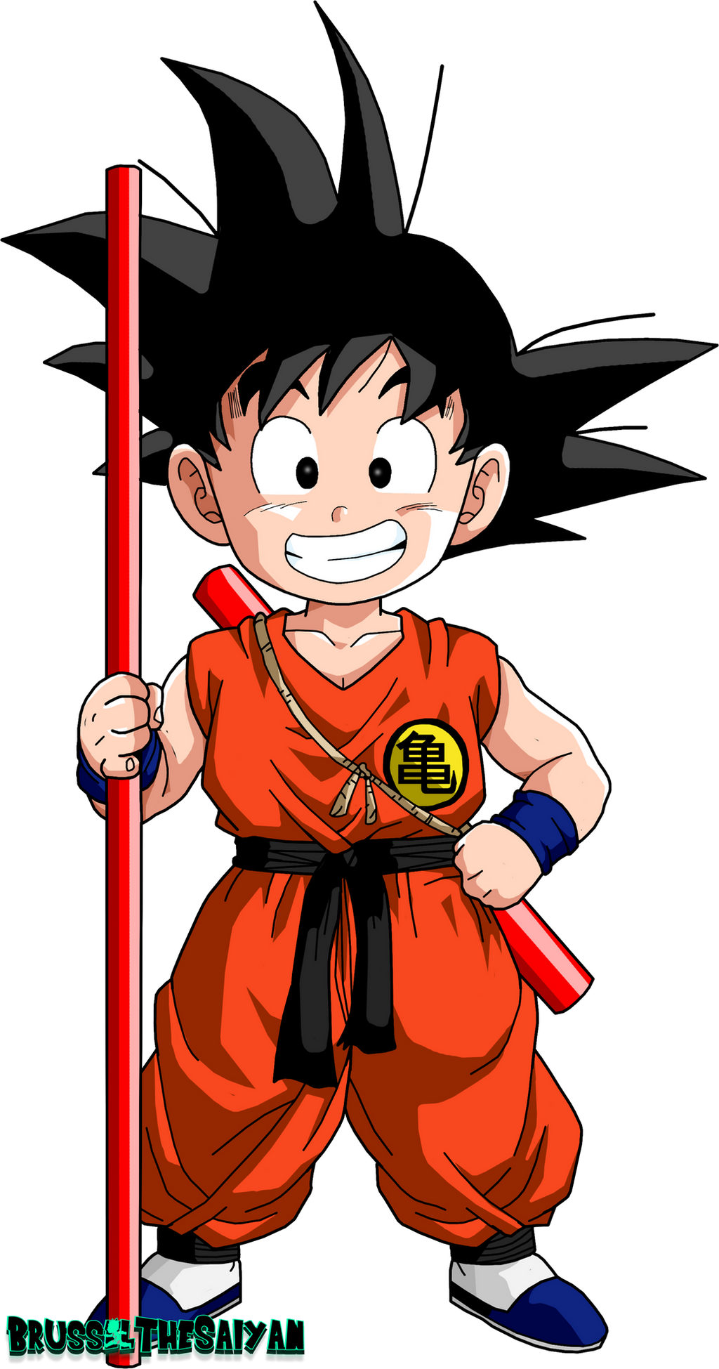Dbz Wallpaper Goku Kid Goku by BrusselThe...