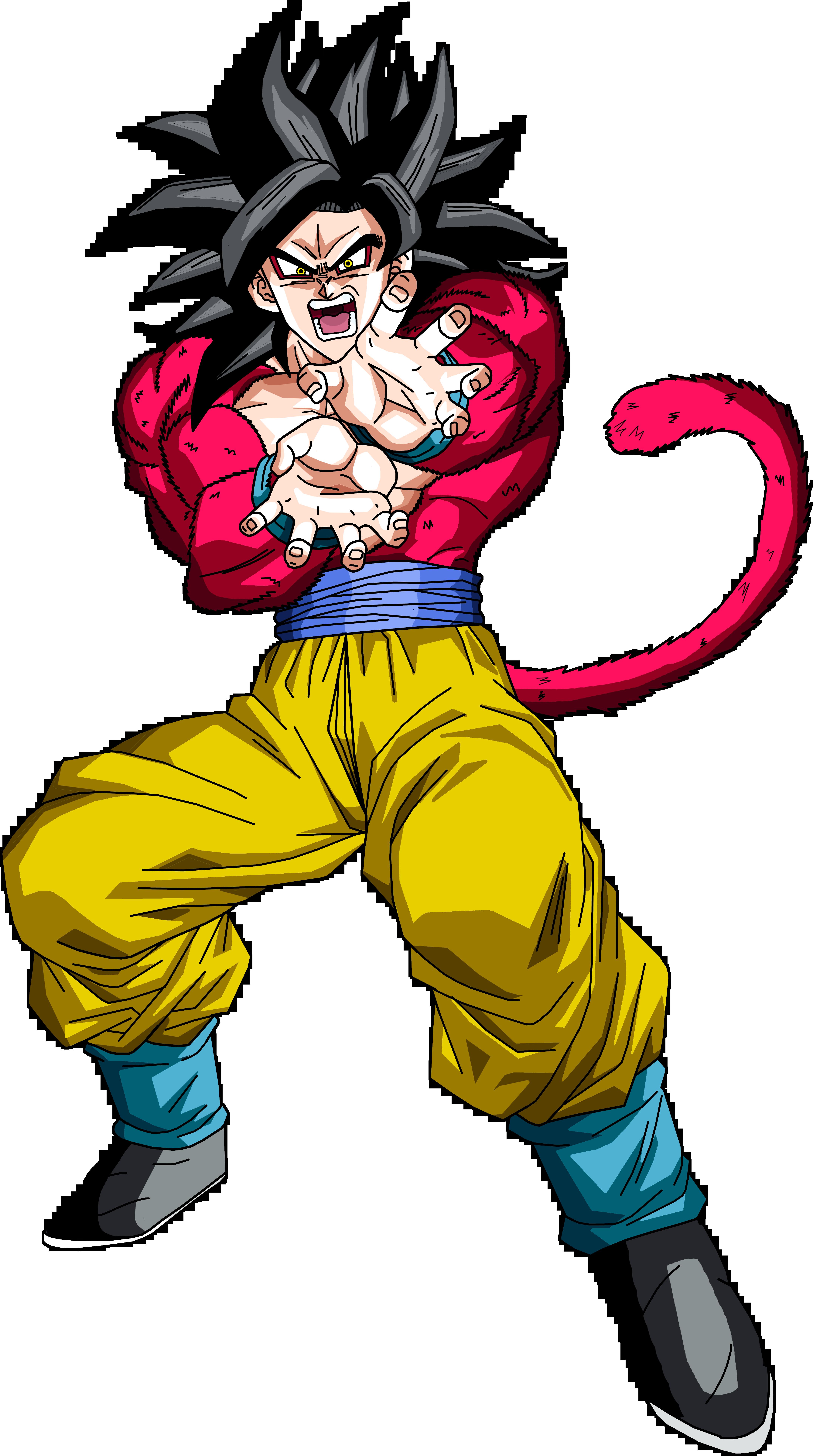 Super Saiyan 4 Goku by BrusselTheSaiyan on DeviantArt