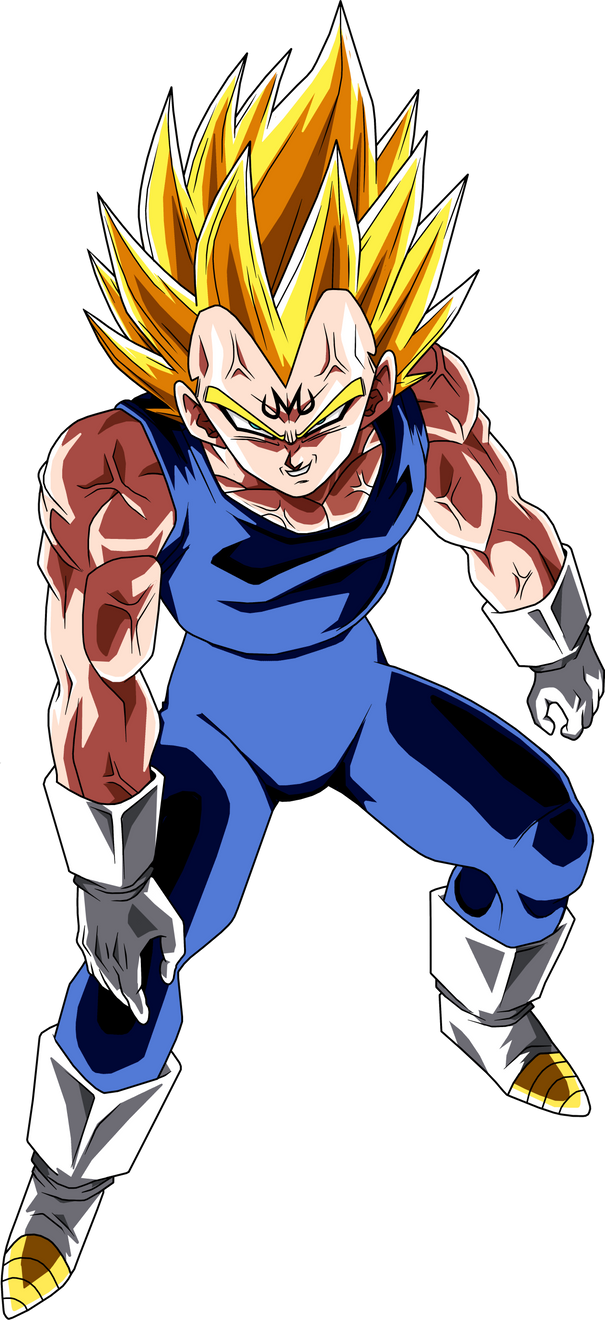 Majin vegeta 2 by brusselthesaiyan on deviantart - Dragon ball z majin vegeta wallpaper ...