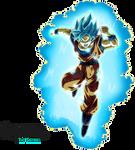 Super Saiyan Blue Goku (Universal Survival) Aura