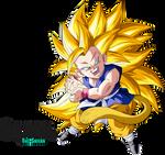Super Saiyan 3 Goku Gt