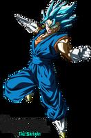 Super Saiyan Blue Vegetto by BrusselTheSaiyan