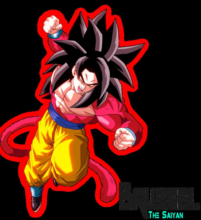 Full Power Super Saiyan 4 Goku by BrusselTheSaiyan on ...
