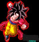 Full Power Super Saiyan 4 Goku