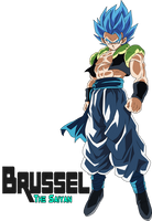 Gogeta Blue by BrusselTheSaiyan