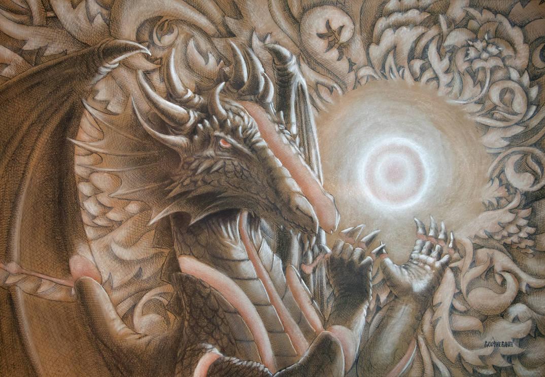 Dragon Art Commission 2 by farzadonline