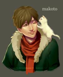 Makoto Bday by Lashialee