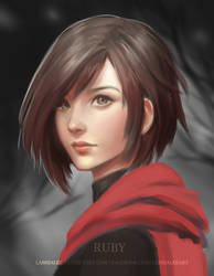 Ruby Rose by Lashialee