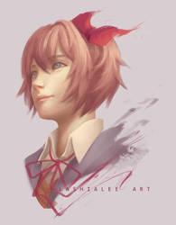 Sayori by Lashialee