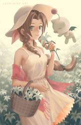 Aerith by Lashialee