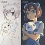Panda Girl - OC Redraw Challenge
