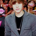 Justin Bieber Display.