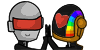 Daft Punk Icons 8D by ClaraWolfe